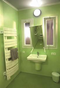 galerie photos hamo cottage pour personnes agees With porte d entrée pvc avec barre de redressement salle de bain