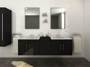 Meuble De Salle Bain Pas Cher : ensemble de salle de bain gisele meuble de salle de bain vente unique ventes pas ~ Teatrodelosmanantiales.com Idées de Décoration