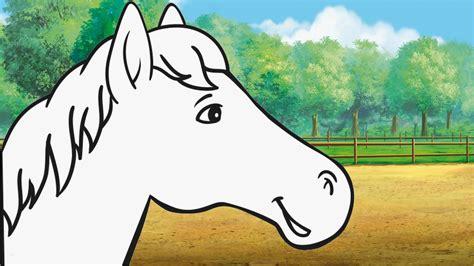 spitzen pferdekopf vorlage idee waru