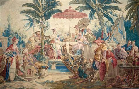 Tapisserie De Beauvais by Tapisserie De La Manufacture Royale De Beauvais Le Repas