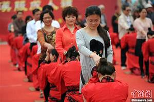 Traditional adulthood ceremony held in Shaanxi - Headlines ...