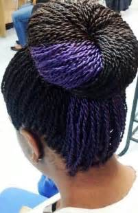 Senegalese Twist with Color