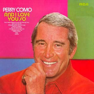 perry como killing me softly wiki and i love you so perry como album wikipedia