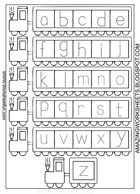 free printable worksheets letter tracing for learning