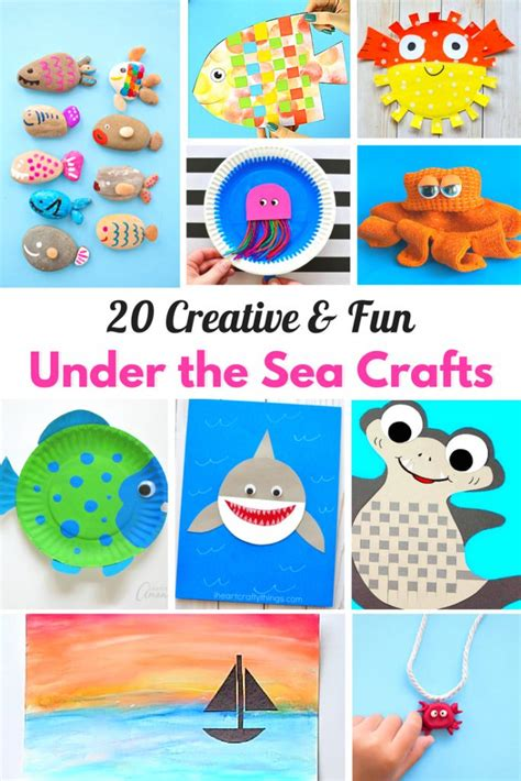 25 the sea crafts for living 650 | 20 Creative Fun Under The Sea Crafts 1 683x1024