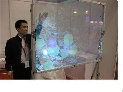 hiwodtouch transparent projection screen yhjn china