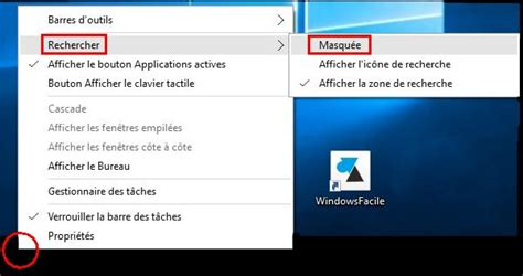 personnaliser bureau windows 8 windows 10 supprimer la barre de recherche