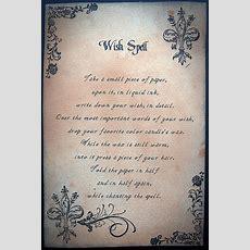 Wish Spell  Spells  Magick Spells, Witchcraft, Halloween Spells
