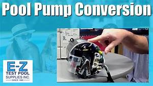 How To Convert An Inground Pool Pump Motor From 115v To