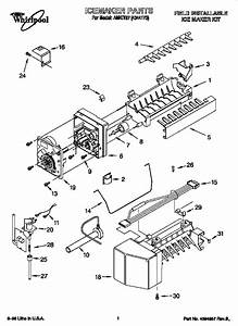 Whirlpool Amkit97 Water  U0026 Ice System Parts