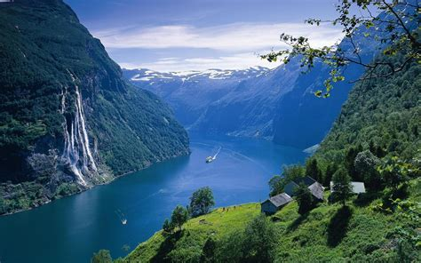 Nature Landscape Norway Wallpapers Hd Desktop And