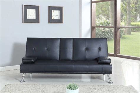 black leather sofa bed with cup holder black leather sofa with cup holders sofa menzilperde net