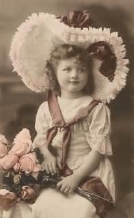 Children Vintage Sepia Photo