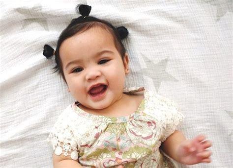 bebes fofos  nasceram  mais cabelo   normal