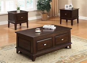 Lift, Top, Drawer, Coffee, Table, Set