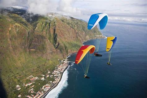 Paragliding in Madeira, Portugal | Madeira Islands | Pinterest