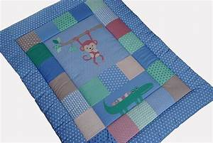 Babydecke Selber Machen : babydecken gro e krabbeldecke patchworkdecke mit namen ~ Lizthompson.info Haus und Dekorationen
