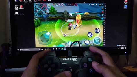 mobile legends  pc  ps controller youtube