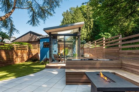 In Backyard by A Seattle Backyard Becomes A Calm Oasis For Two Book