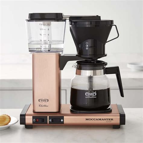Koffiezetapparaat Technivorm by Technivorm Glass Coffee Maker Copper Williams Sonoma