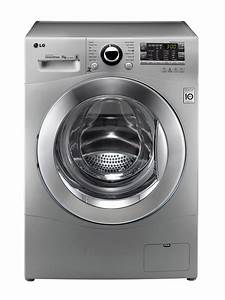 LG FRONT LOADER WASHING MACHINE (SILVER) MODEL: F14A8FD5 ...