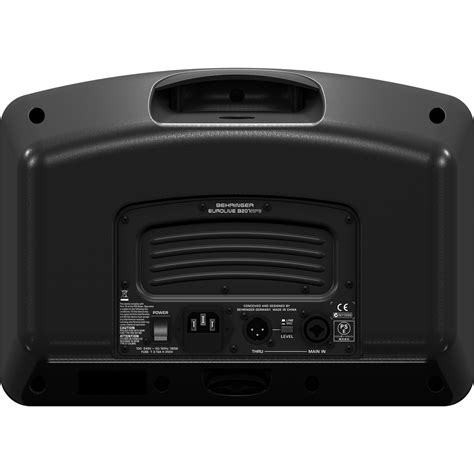 behringer b207 mp3 active pa speaker monitor b stock at gear4music