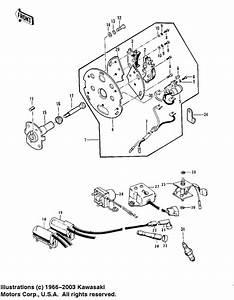 Ignition  Regulator  Rectifier For 1975 Kawasaki Z1