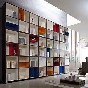 Bücherwand Mit Tv : b cherwand cube anthrazit wei dekor bunte eins tze ~ Michelbontemps.com Haus und Dekorationen