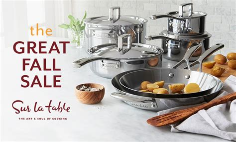 40% Off Cooking & Dining Supplies At Sur La Table 1 Bedroom Apartments Near Ncsu Dressers Sets Pine Set Three In Manhattan Ks Vanity Chest Furniture Storage Solutions For Tiny Bedrooms Multipurpose Small Spaces
