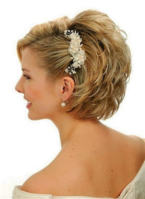 Up Styles For Short Hair For Weddings Very Short Hair
