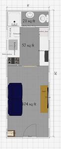 Free Tiny House Plan With Loft Under 200 Sq Ft
