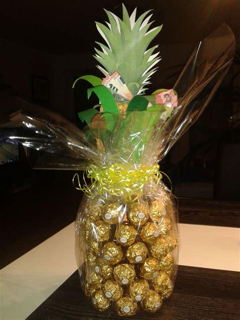 ananas sektflasche karte geldgeschenk geldgeschenke flaschen und geschenke