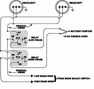 5 Post Relay Wiring Diagram Headlights