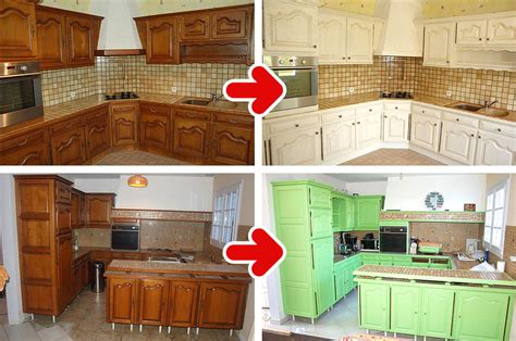 peinture d armoire de cuisine relooking cuisine peinture cuisine rennes ille et