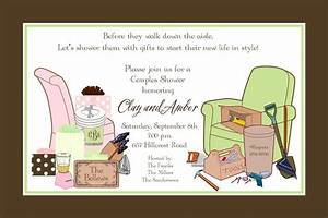 bridal shower couples wedding shower invitations card With couples wedding shower invites