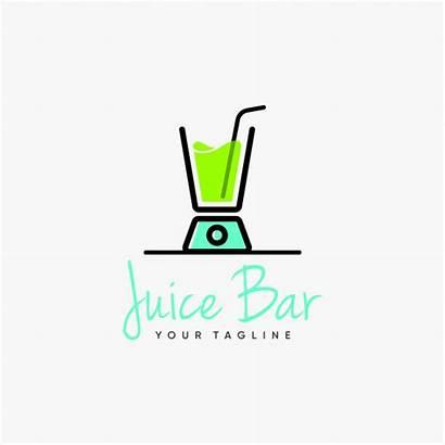 Juice Bar Blender Inspiration Premium Vector