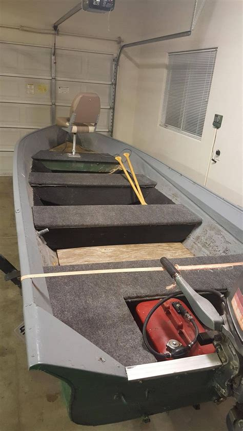 Aluminum Fishing Boat Restoration by Best 25 Aluminum Boat Ideas On Pinterest Aluminum Bass
