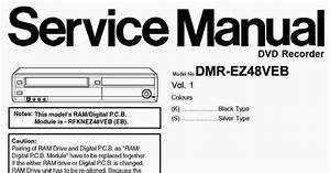 Panasonic Dmr-ez48 Service Manual