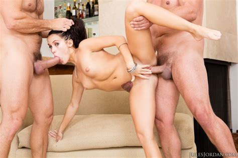 Megan Rain First Hardcore Double Penetration Scene Jules