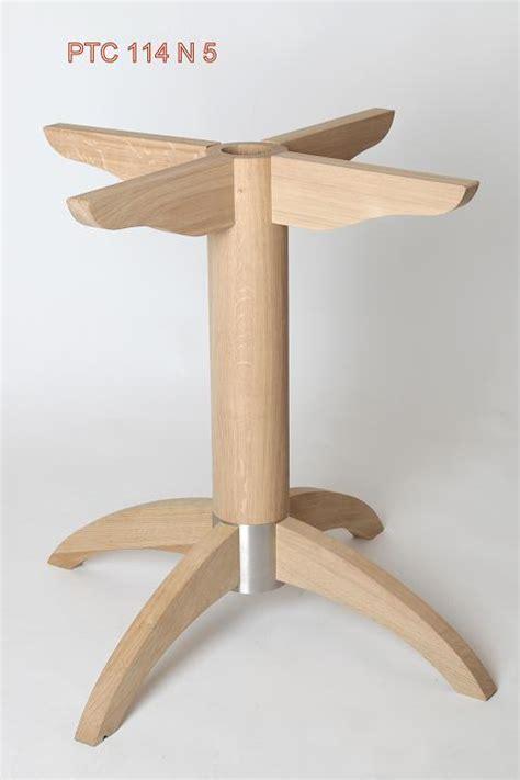 table pied central bois pied de table central bois metal h 233 v 233 a ptc114n5 pied de table central ref 114 pieds de table