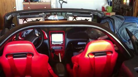 cobra mustang full custom  interior  custom audio