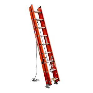 Ceiling Access Ladder by Shop Werner 24 Ft Fiberglass 300 Lb Type Ia Extension