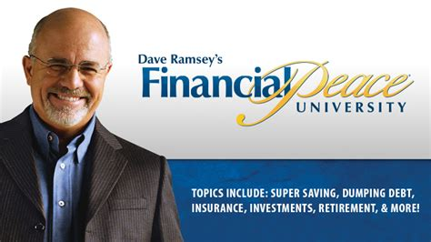 Dave Ramsey's Financial Peace University  Pleasant Valley