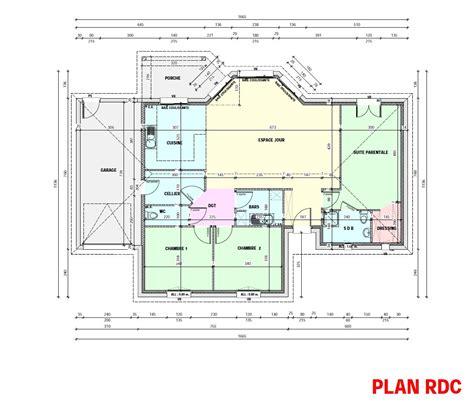 plan maison 5 chambres plan maison moderne 5 chambres plan maison