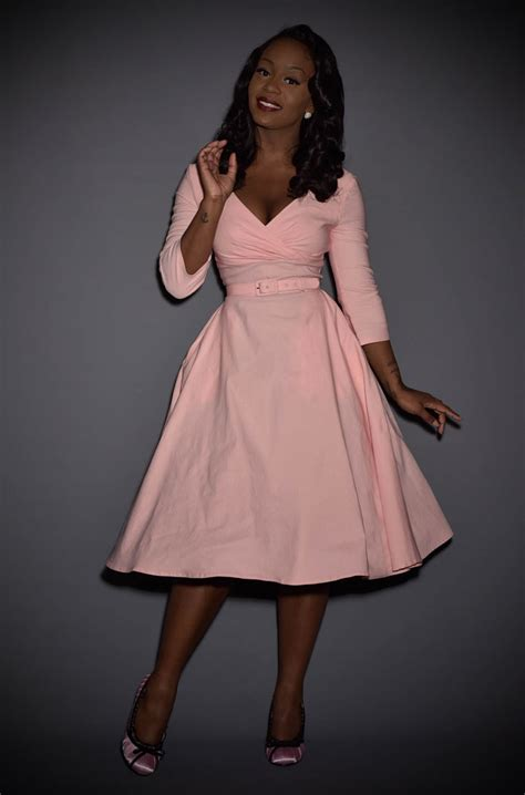 erin swing dresses  mint baby pink perfect swing