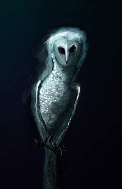scary owl drawing  getdrawings
