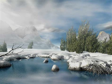 3d Winter Animated Wallpaper - 3d animated winter wallpaper desktop wallpapersafari