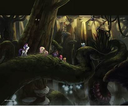 Concept Pony Backgrounds Mlp Awesome Fim Film
