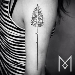 Tatouages en une seule ligne continue Tattoos fr