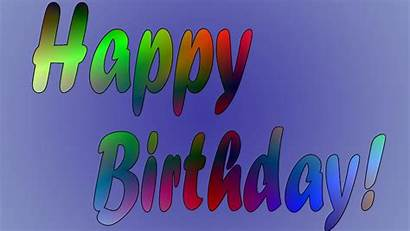 Birthday Happy Background Wallpapers Party Congratulations Card